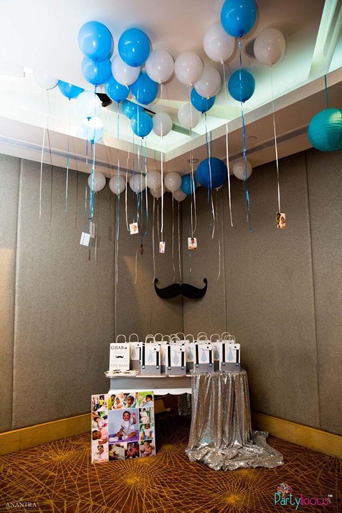 Kara S Party Ideas Little Man Birthday Party Kara S