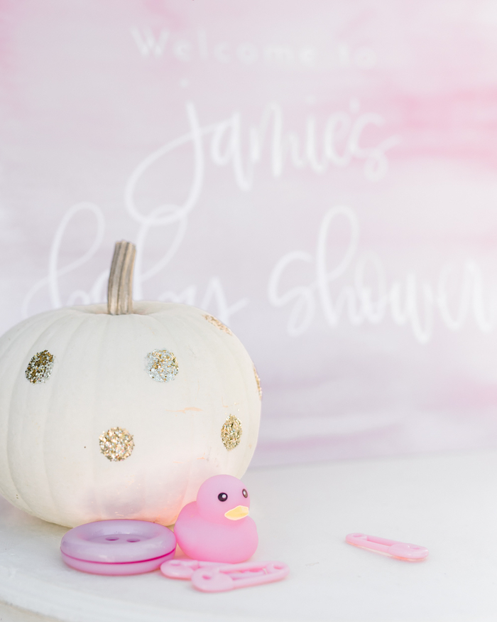 Decor from a Little Pumpkin Baby Shower on Kara's Party Ideas | KarasPartyIdeas.com (43)