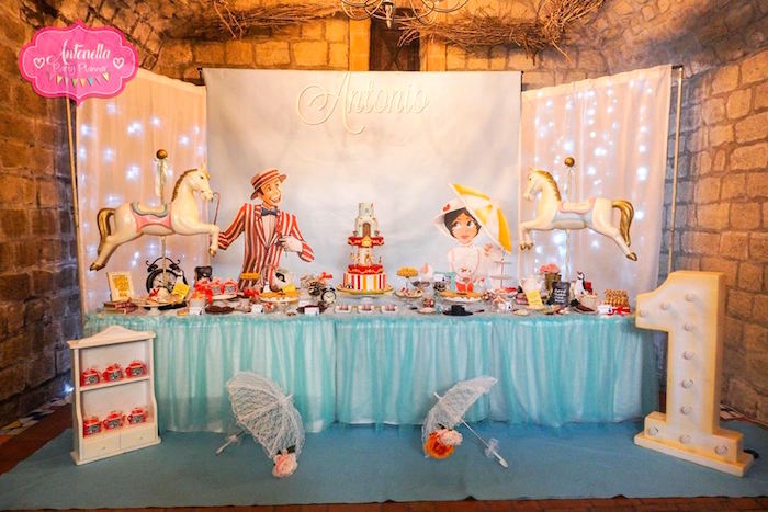 Mary Poppins Birthday Party on Kara's Party Ideas | KarasPartyIdeas.com (9)