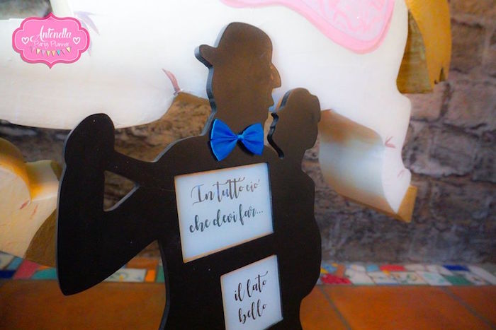 Silhouette signage from a Mary Poppins Birthday Party on Kara's Party Ideas | KarasPartyIdeas.com (4)
