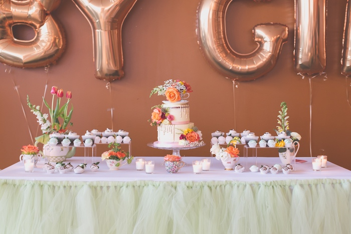 kara s party ideas modern chic tea party baby shower kara s party