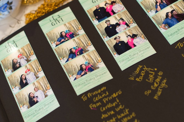Photo booth strips from a Modern Chic Tea Party on Kara's Party Ideas | KarasPartyIdeas.com (4)