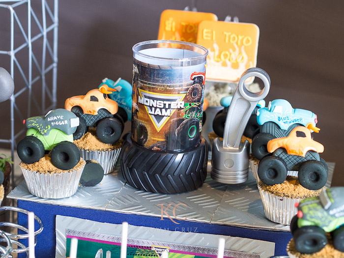 Kara S Party Ideas Monster Truck Monster Jam Birthday