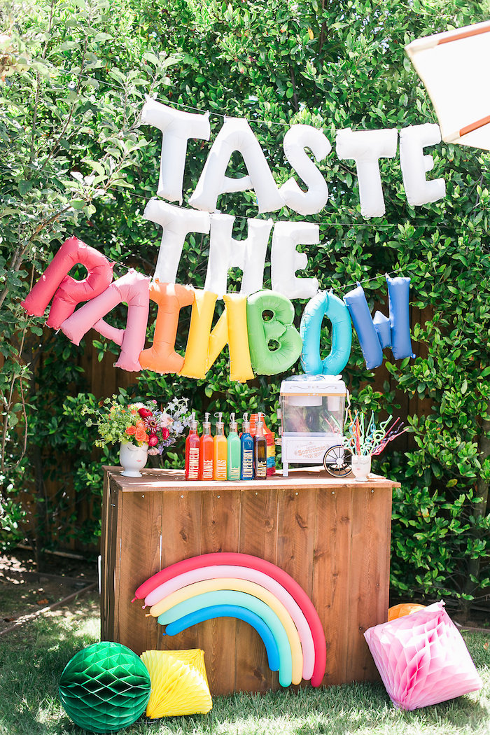 Taste the Rainbow from an Over the Rainbow Birthday Party on Kara's Party Ideas | KarasPartyIdeas.com (24)