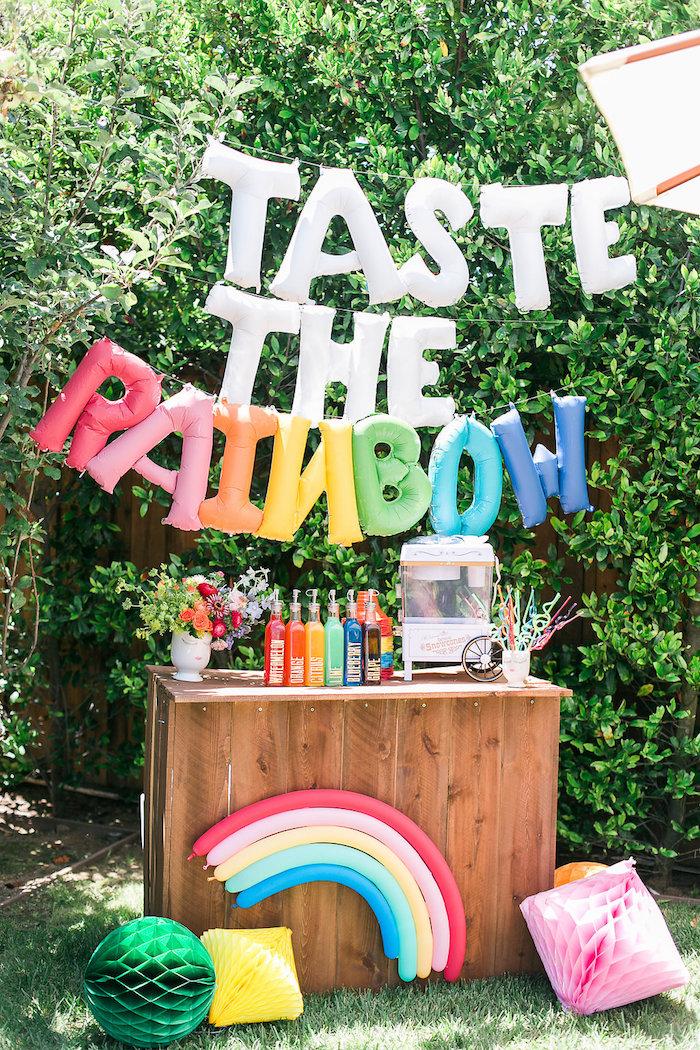 Taste the Rainbow from an Over the Rainbow Birthday Party on Kara's Party Ideas | KarasPartyIdeas.com (24)