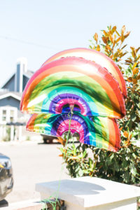 Rainbow balloons from an Over the Rainbow Birthday Party on Kara's Party Ideas | KarasPartyIdeas.com (39)