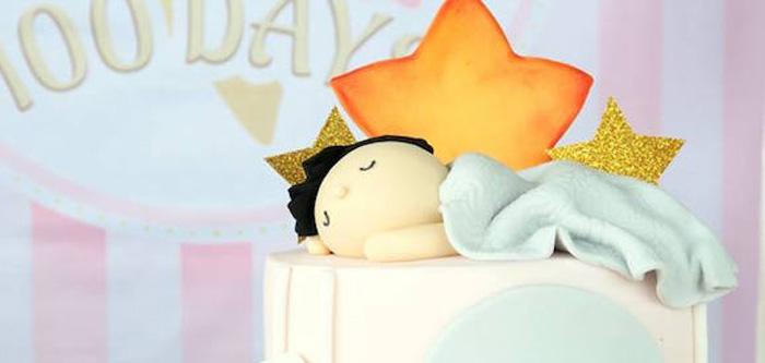 Pastel Twinkle Star 100 Days Party on Kara's Party Ideas   KarasPartyIdeas.com (5)