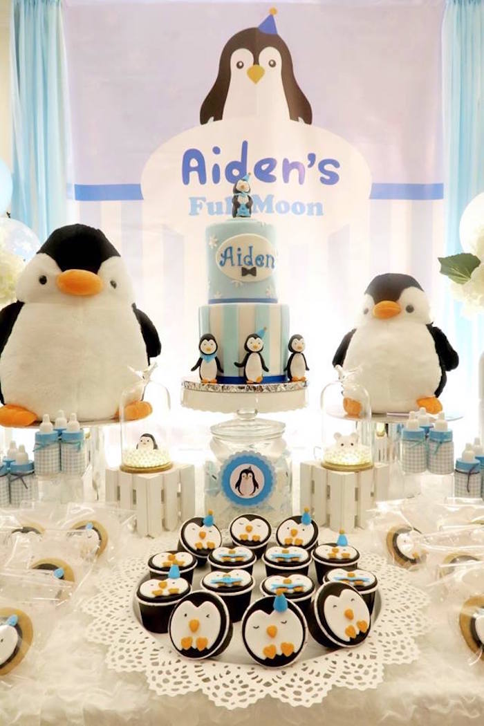 Penguin Party on Kara's Party Ideas | KarasPartyIdeas.com (8)