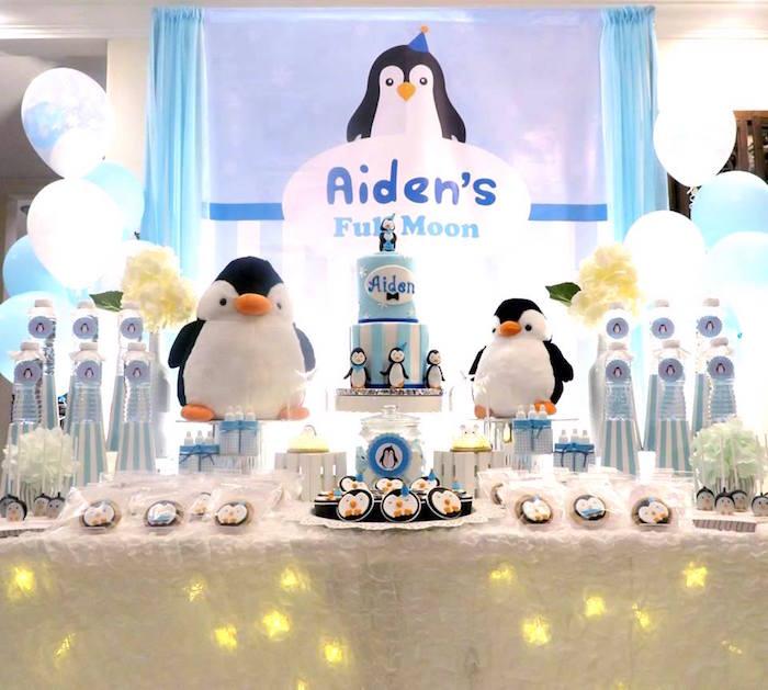 Penguin Party on Kara's Party Ideas | KarasPartyIdeas.com (20)
