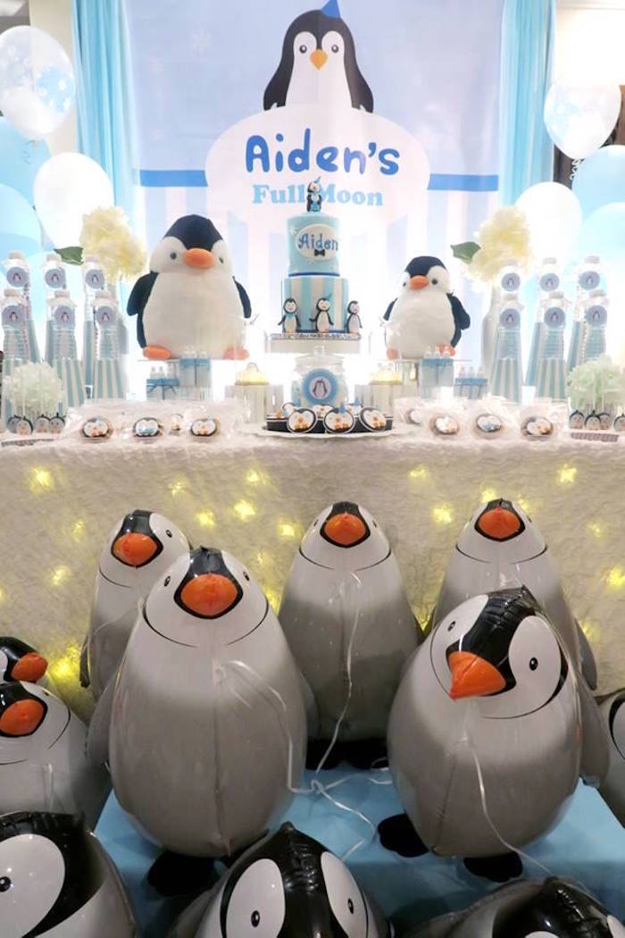 Penguin Party on Kara's Party Ideas | KarasPartyIdeas.com (19)