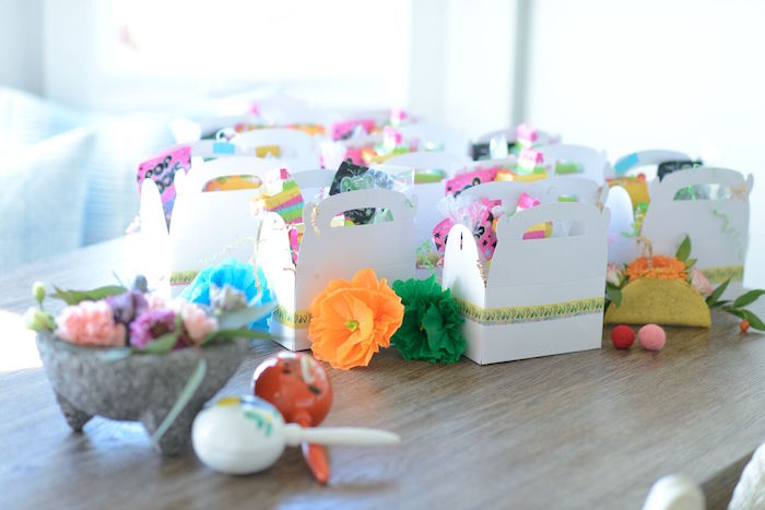 Fiesta Favor Boxes from a Peppa Pig Birthday Fiesta on Kara's Party Ideas | KarasPartyIdeas.com (25)