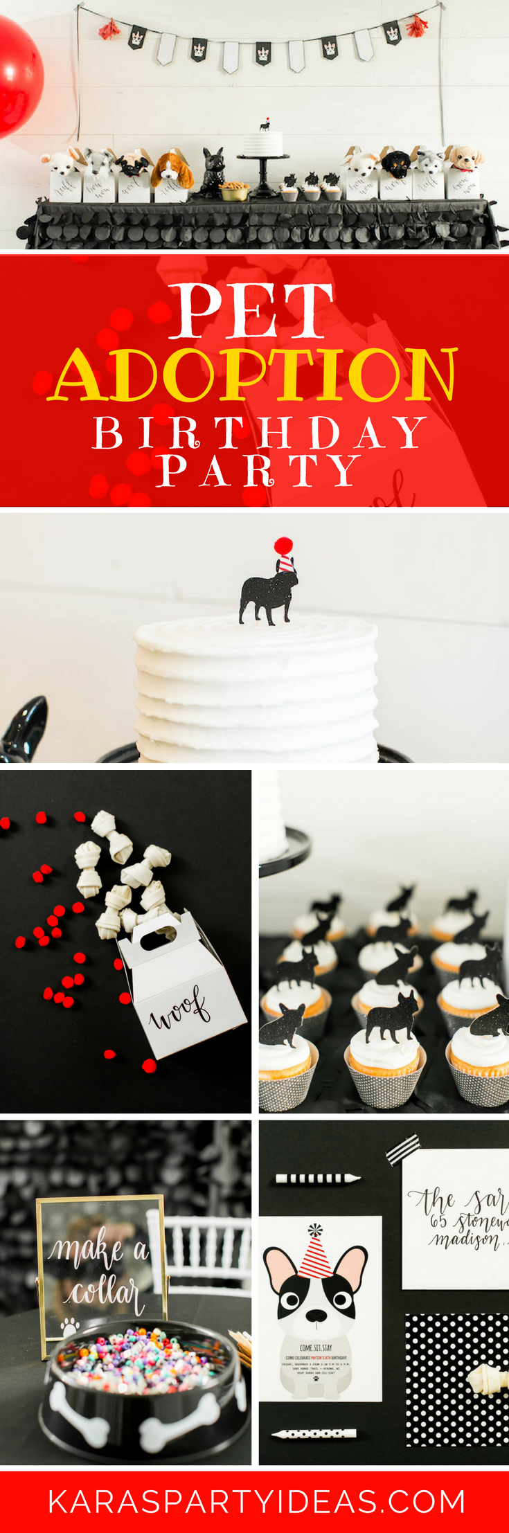 Pet Adoption Birthday Party via Kara's Party Ideas - KarasPartyIdeas.com (1)
