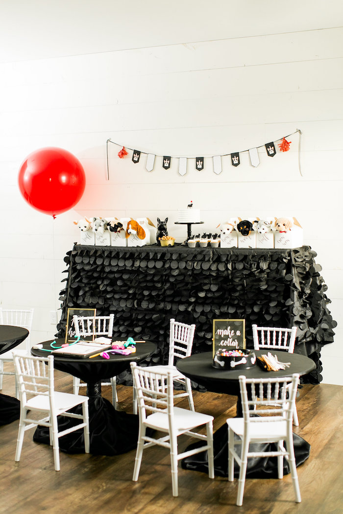 Pet Adoption Birthday Party on Kara's Party Ideas | KarasPartyIdeas.com (14)