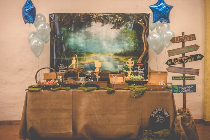 Peter Pan Neverland Party on Kara's Party Ideas | KarasPartyIdeas.com (19)