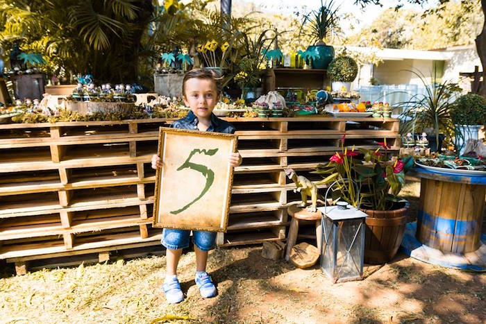 Rustic Dinosaur Birthday Party on Kara's Party Ideas | KarasPartyIdeas.com (26)