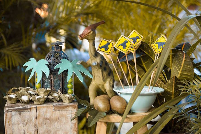 Rustic Dinosaur Birthday Party on Kara's Party Ideas | KarasPartyIdeas.com (11)