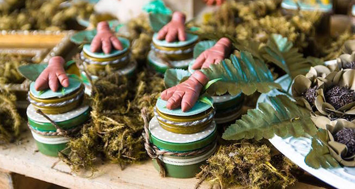 Rustic Dinosaur Birthday Party on Kara's Party Ideas | KarasPartyIdeas.com (3)