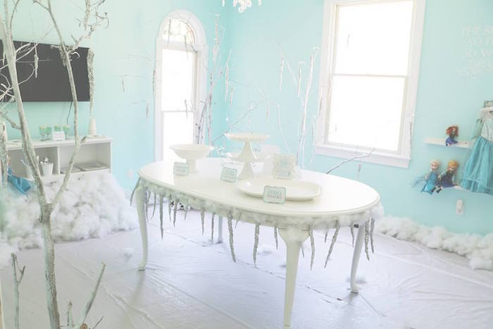 Shimmering Frozen Birthday Party on Kara's Party Ideas | KarasPartyIdeas.com (17)