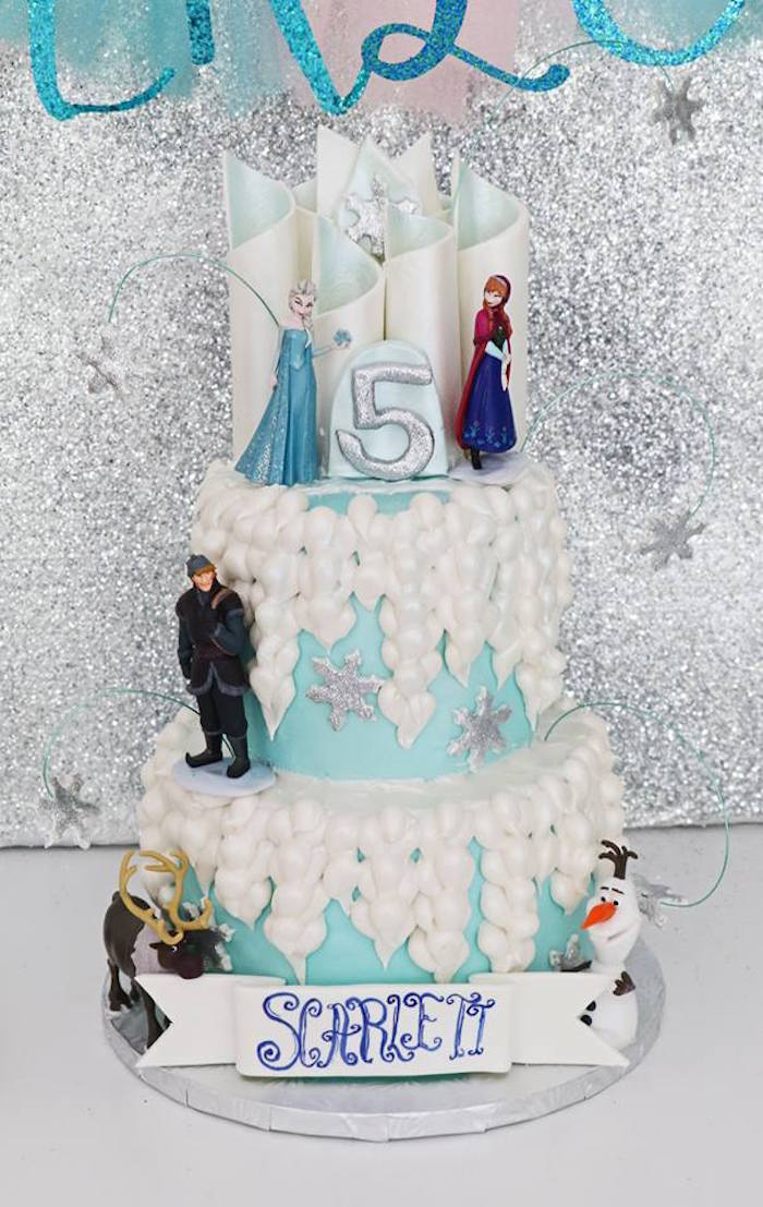 Shimmering Frozen Birthday Party on Kara's Party Ideas | KarasPartyIdeas.com (16)