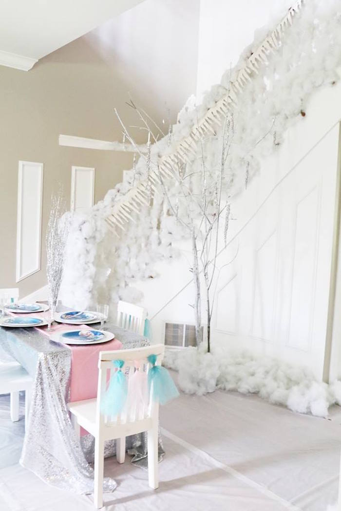 Shimmering Frozen Birthday Party on Kara's Party Ideas | KarasPartyIdeas.com (13)