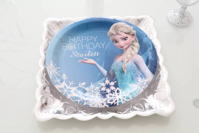 Shimmering Frozen Birthday Party on Kara's Party Ideas | KarasPartyIdeas.com (10)