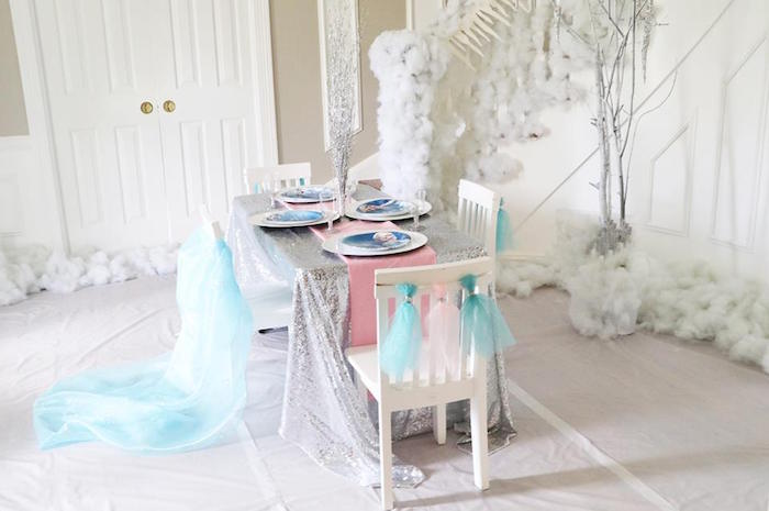 Shimmering Frozen Birthday Party on Kara's Party Ideas | KarasPartyIdeas.com (9)