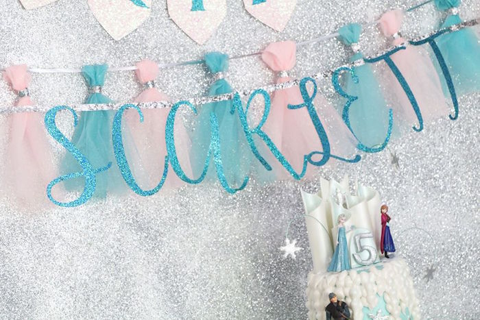 Shimmering Frozen Birthday Party on Kara's Party Ideas | KarasPartyIdeas.com (5)