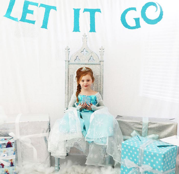 Shimmering Frozen Birthday Party on Kara's Party Ideas | KarasPartyIdeas.com (28)