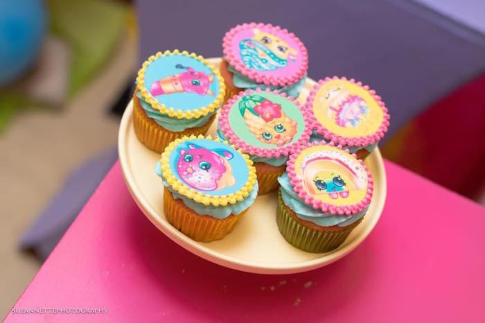 Shopkins Cupcakes from a Shopkins Birthday Party on Kara's Party Ideas | KarasPartyIdeas.com (18)