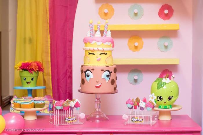 Shopkins Cake from a Shopkins Birthday Party on Kara's Party Ideas | KarasPartyIdeas.com (16)
