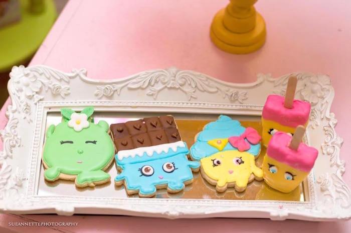 Shopkins cookies from a Shopkins Birthday Party on Kara's Party Ideas | KarasPartyIdeas.com (10)