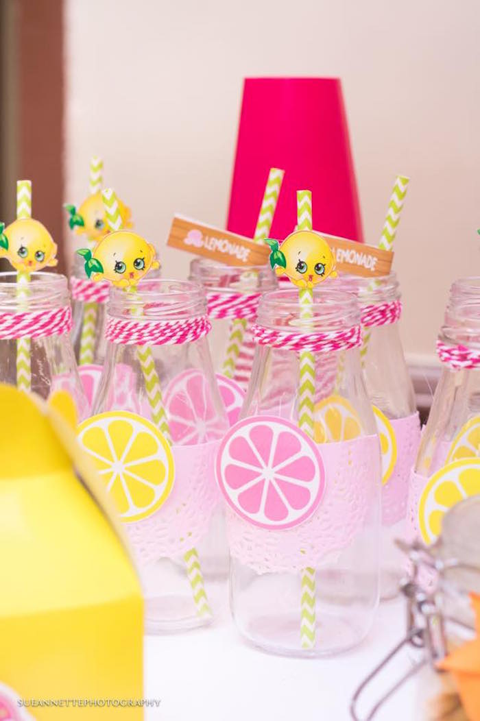 Drink bottles from a Shopkins Birthday Party on Kara's Party Ideas | KarasPartyIdeas.com (9)