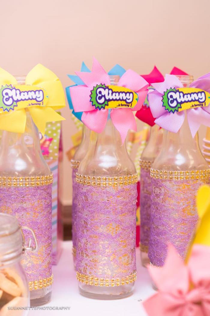 Drink bottles from a Shopkins Birthday Party on Kara's Party Ideas | KarasPartyIdeas.com (7)