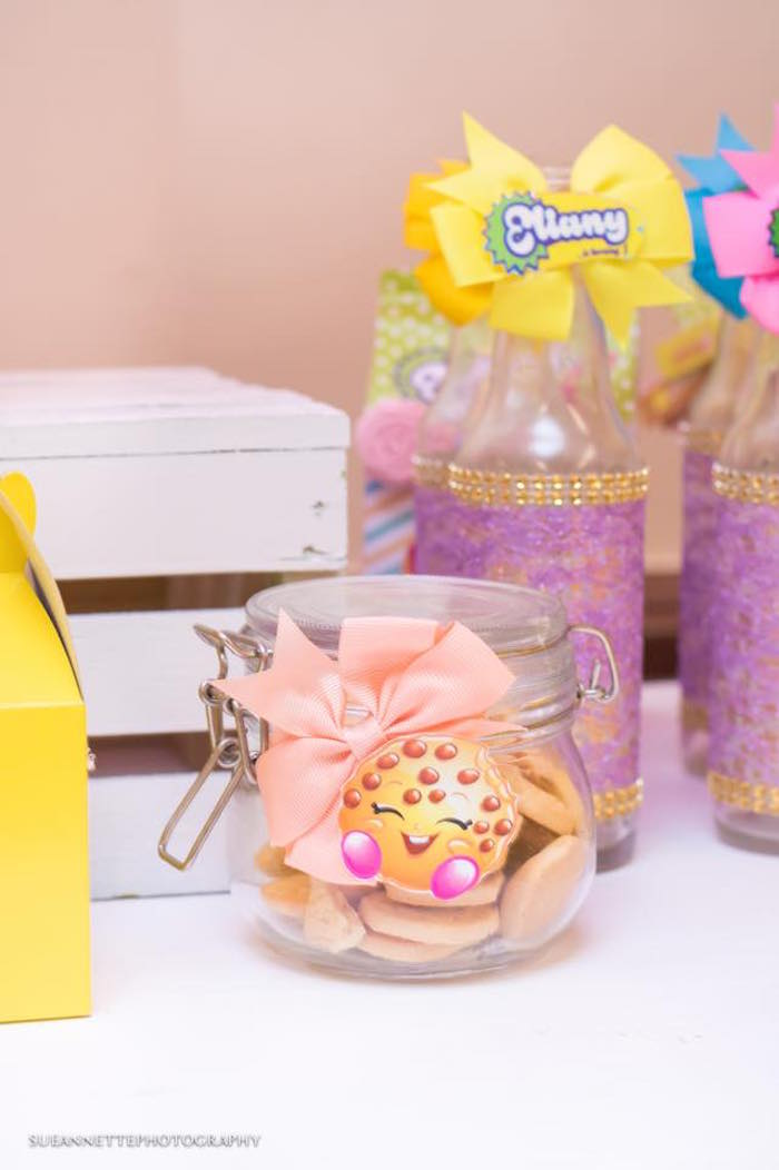 Snack jar from a Shopkins Birthday Party on Kara's Party Ideas | KarasPartyIdeas.com (34)