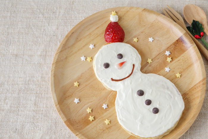 Kara S Party Ideas Adorable And Easy Snowman Pancakes