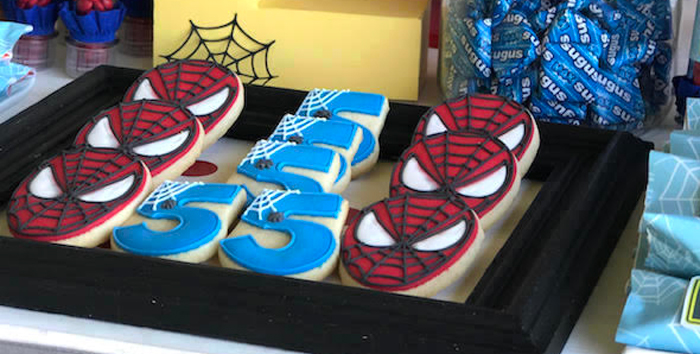 Spiderman Birthday Party on Kara's Party Ideas | KarasPartyIdeas.com (2)