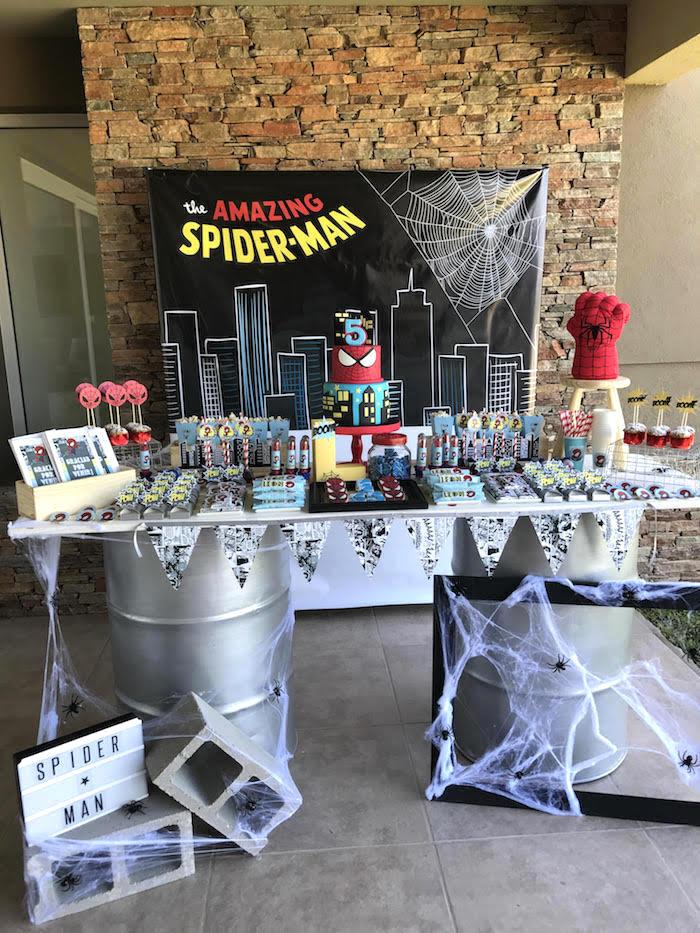 kara u0026 39 s party ideas the amazing spiderman birthday party
