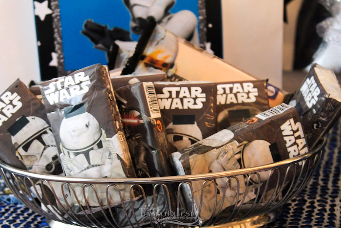 Star Wars tissue favors from a Star Wars Birthday Party on Kara's Party Ideas | KarasPartyIdeas.com (19)