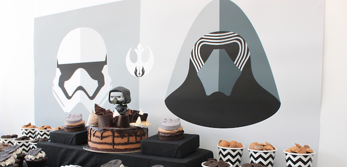 Star Wars Birthday Party on Kara's Party Ideas | KarasPartyIdeas.com (1)