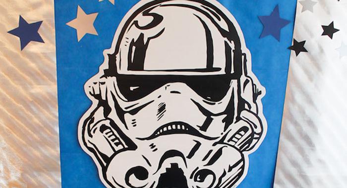 Kara S Party Ideas Storm Trooper Star Wars Birthday Party
