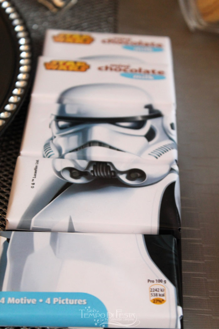 Storm Trooper Candy Bars from a Star Wars Birthday Party on Kara's Party Ideas | KarasPartyIdeas.com (24)