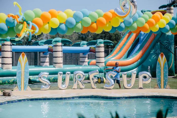 Kara S Party Ideas Surf S Up Birthday Party Kara S Party Ideas