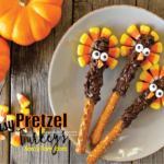 Easy Thanksgiving Candy Recipe | Thanksgiving Pretzel Turkey's | Kara's Party Ideas