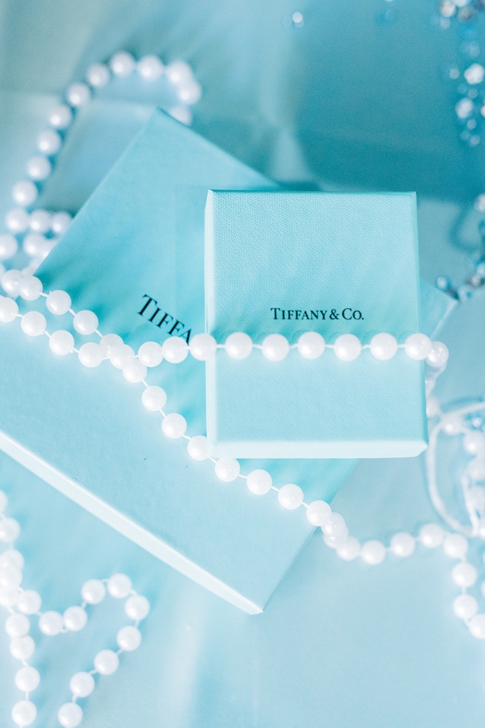 Gift boxes from a Tiffany & Co. Bridal Shower on Kara's Party Ideas | KarasPartyIdeas.com (8)