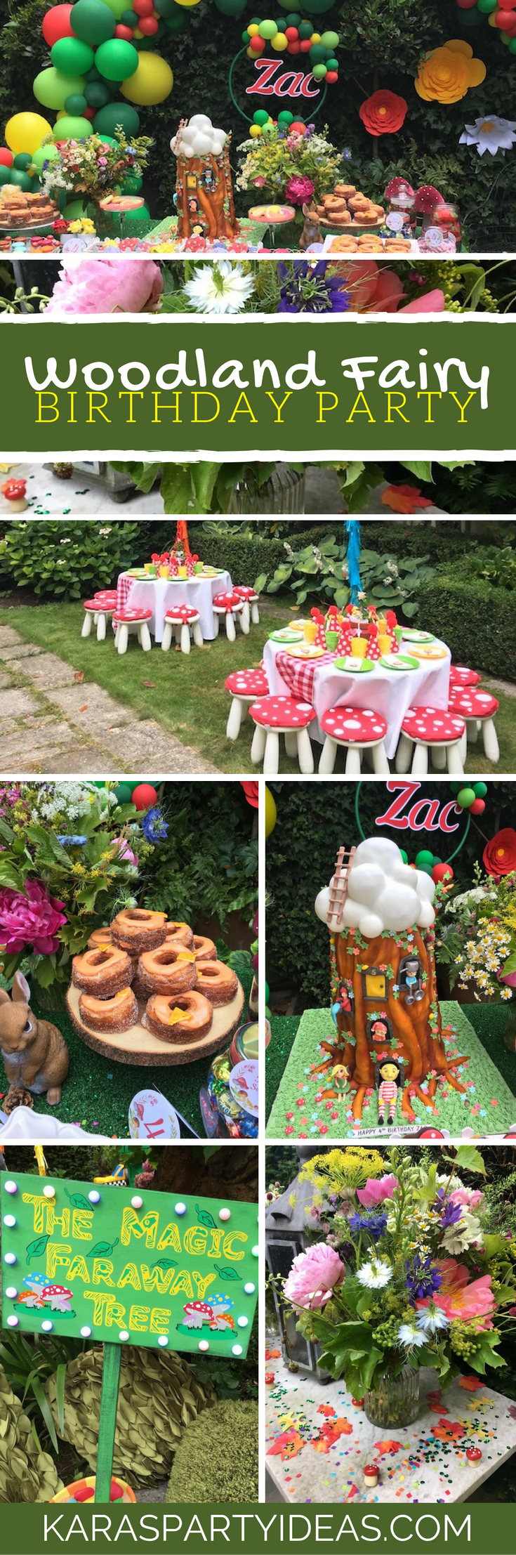 Woodland Fairy Birthday Party via Kara's Party Ideas - KarasPartyIdeas.com (1)