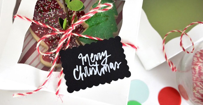"""Sugar & Spice"" Christmas Cookie Swap Party on Kara's Party Ideas   KarasPartyIdeas.com (1)"