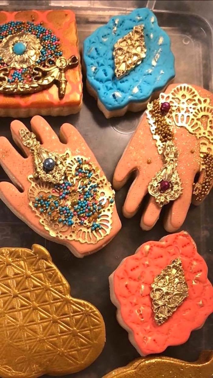 Cookies from an Arabian Nights Birthday Party on Kara's Party Ideas | KarasPartyIdeas.com (8)