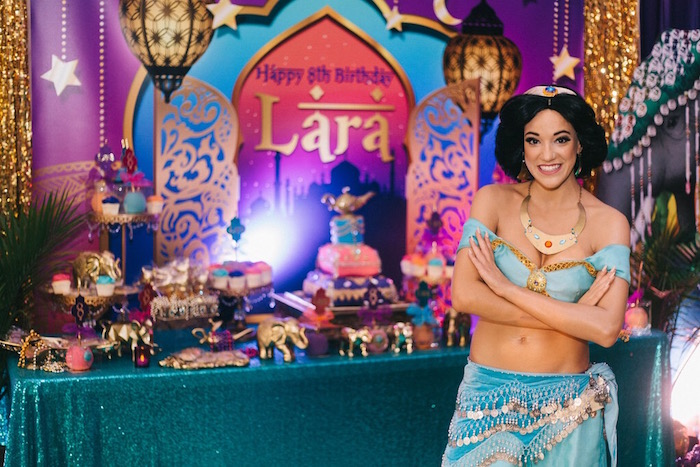 Sweet table from an Arabian Nights Birthday Party on Kara's Party Ideas | KarasPartyIdeas.com (5)
