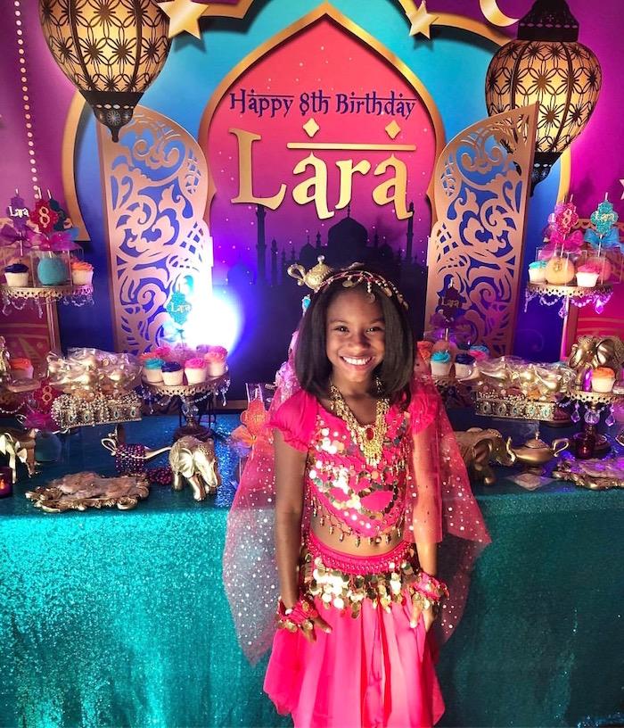 Kara's Party Ideas Arabian Nights Birthday Party