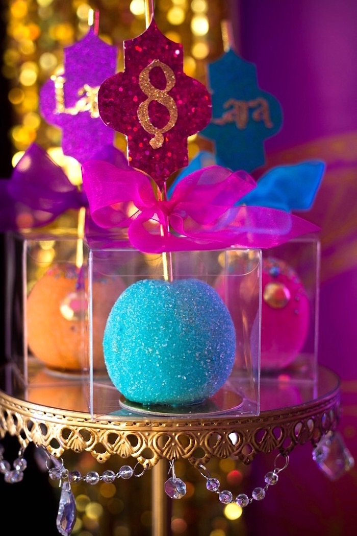Gourmet apples from an Arabian Nights Birthday Party on Kara's Party Ideas | KarasPartyIdeas.com (17)